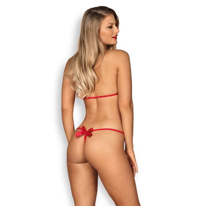 Body Obsessive Giftella, sexy łączy biustonosz ze stringami