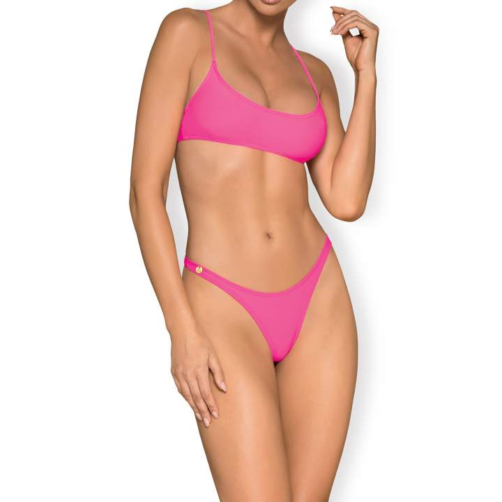 Różowe bikini Obsessive Mexico Beach