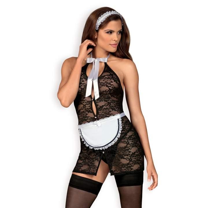 Kostium Obsessive Servgirl, uwodzicielska pokojówka