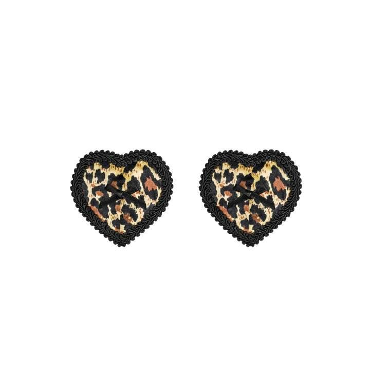 Nasutniki Obsessive Selvy w kształcie serc w panterkę