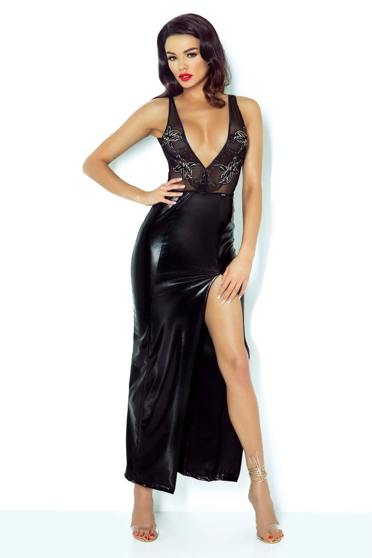 Długa sukienka Demoniq Jacqueline w czarnym kolorze