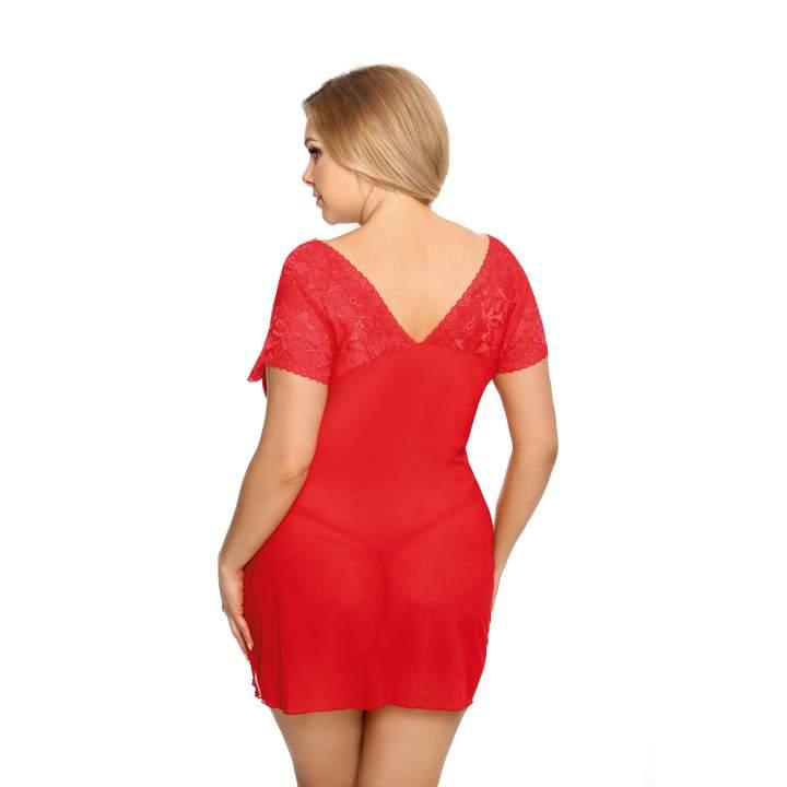Czerwona koszulka nocna + stringi – Anais Sydney