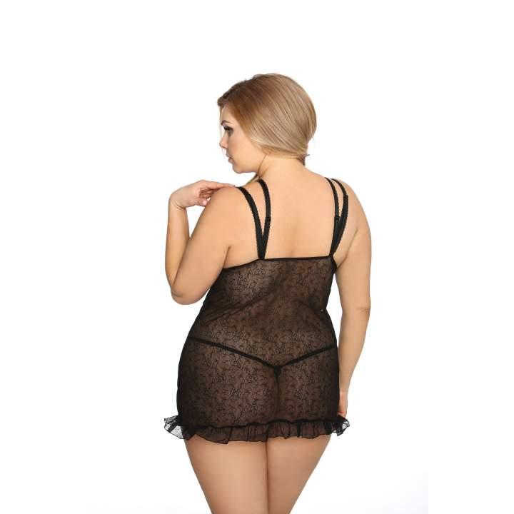 Elegancka i zmysłowa koszula nocna – Anais Tamara + stringi