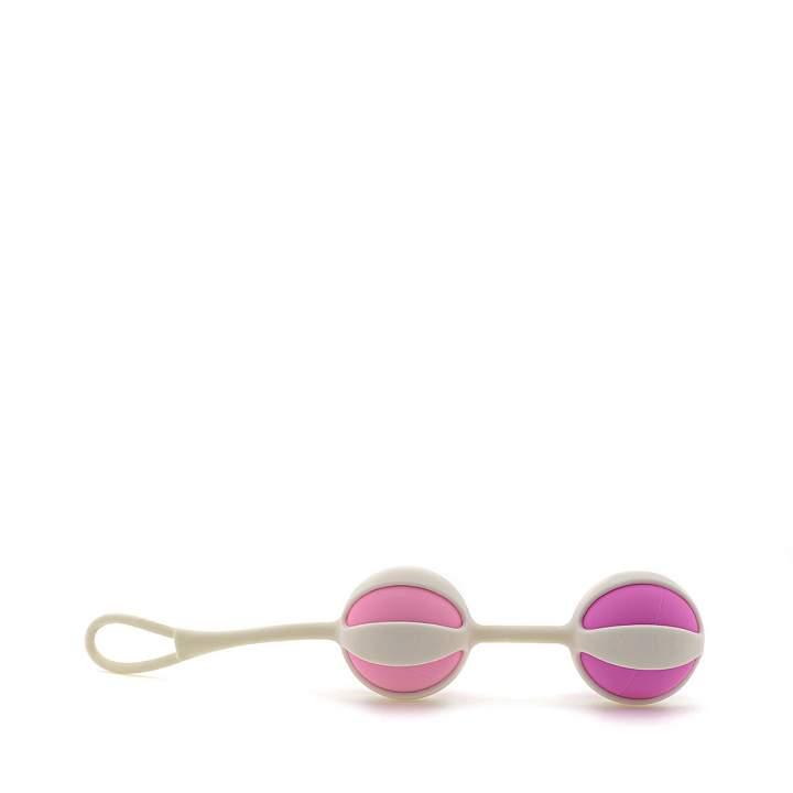 Komplet różowych silikonowych kulek gejszy – 23 do 52g