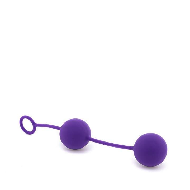 Purpurowe podwójne kulki gejszy 82g