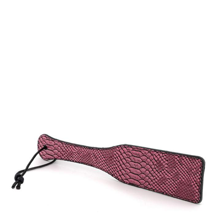Różowa wężowa packa dla kobiet i mężczyzn – 32 cm