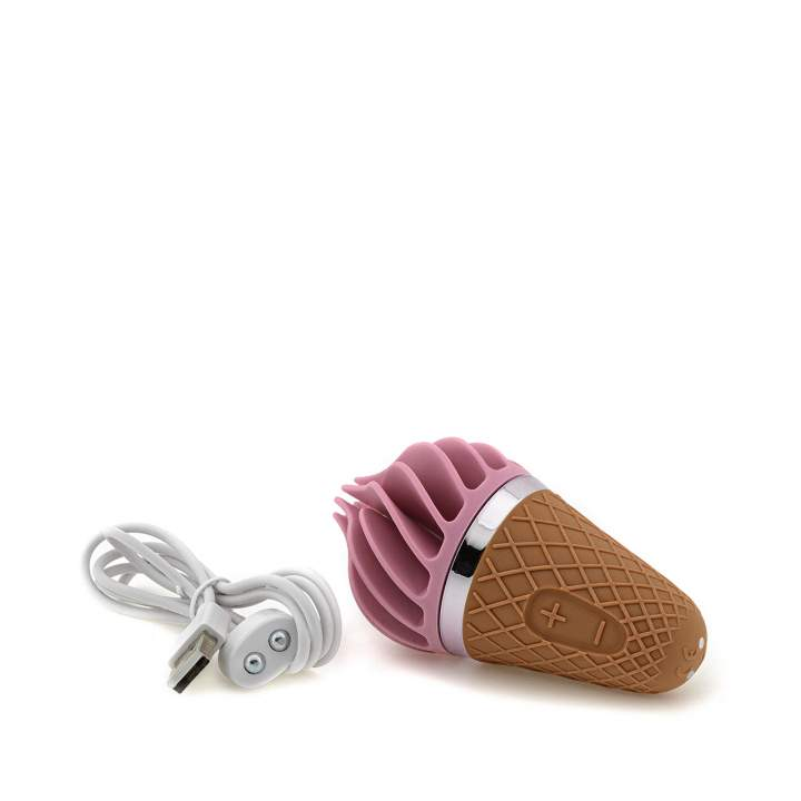 Różowy silikonowy masażer łechtaczki z wibracją Satisfyer Layons Sweet Temtation