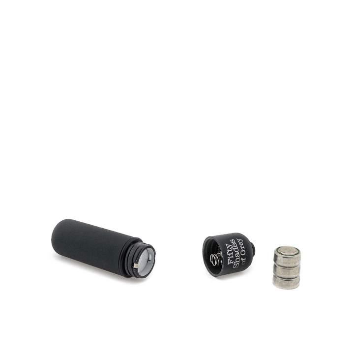 Czarny mini wibrator Heavenly Massage Fifty Shades of Grey z tworzywa ABS