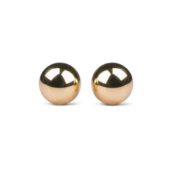 Metalowe kulki Gejszy w złotym kolorze – 56 g