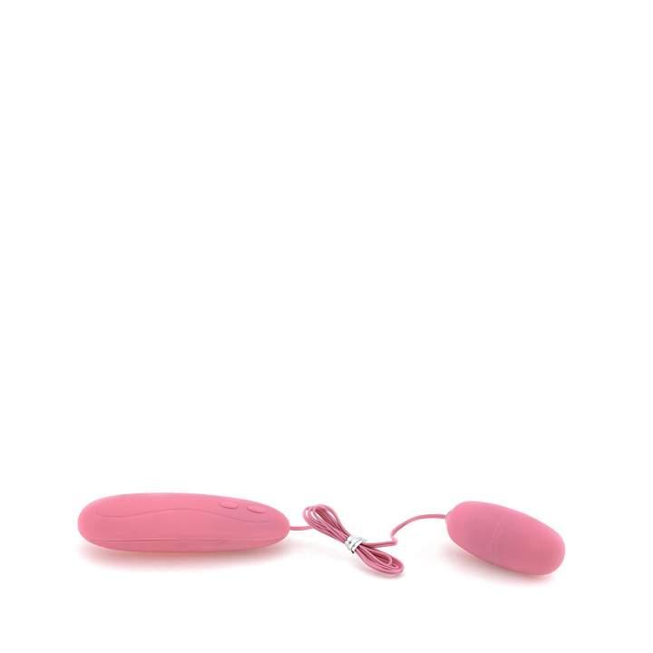 Różowe silikonowe jajko wibrujące – 12 funkcji wibracji