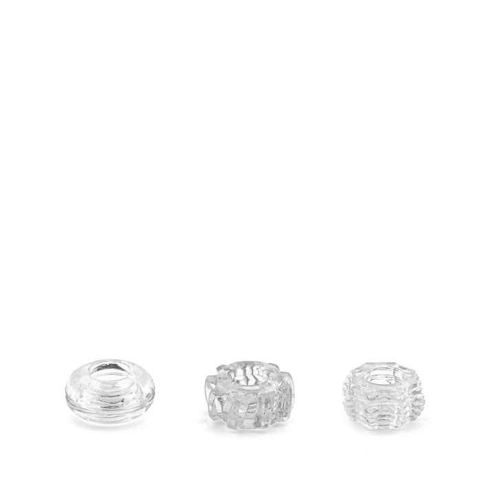 Trzy bezbarwne pierścienie erekcyjne – różne wzory