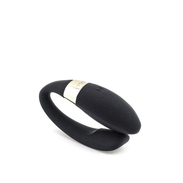 Czarny ekskluzywny wibrator dla par LELO Noa