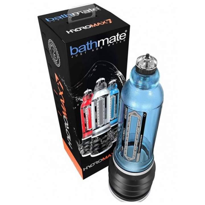 Wodna pompka do powiększania penisa Bathmate Hydromax7 Aqua Blue