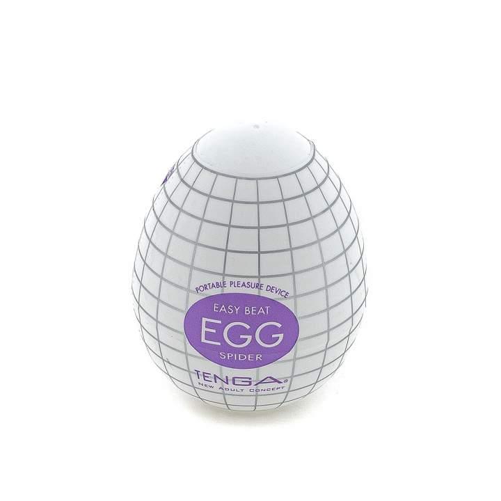 Elastyczny silikonowy masturabator jajko – dobra przyczepność, wrażenie 360°