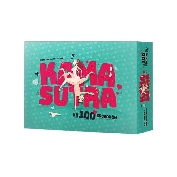 Erotyczna gra planszowa dla dorosłych – Kamasutra na 100 sposobów