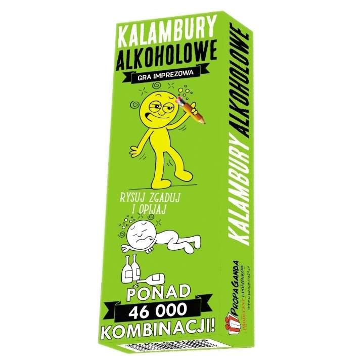 Kalambury alkoholowe – gra karciana dla dorosłych idealna na imprezę