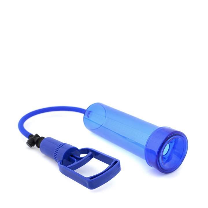 Manualna pompka do penisa z silikonową uszczelką i mocnym ssaniem
