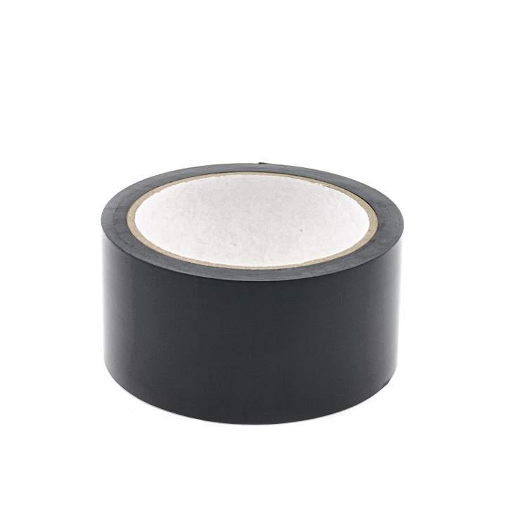 Czarna samoprzylepna taśma do wiązania dla kobiet i mężczyzn – długość 15,24 m