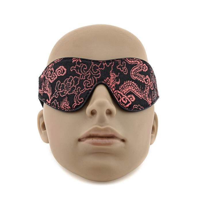 Subtelna opaska na oczy na elastycznej gumce