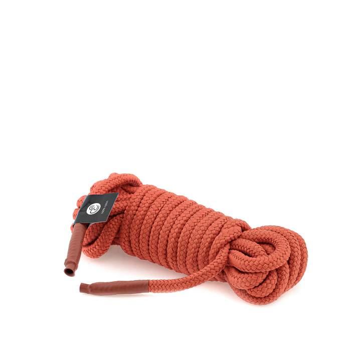 Czerwona nylonowa lina bondage – 5 metrów