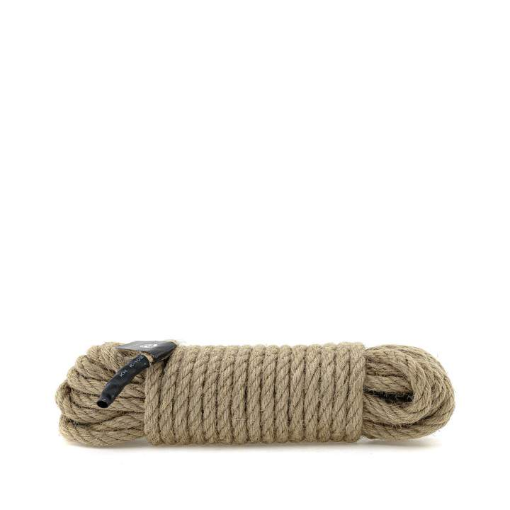Naturalna lina konopna do zabawy typu Bondage – 10 metrów