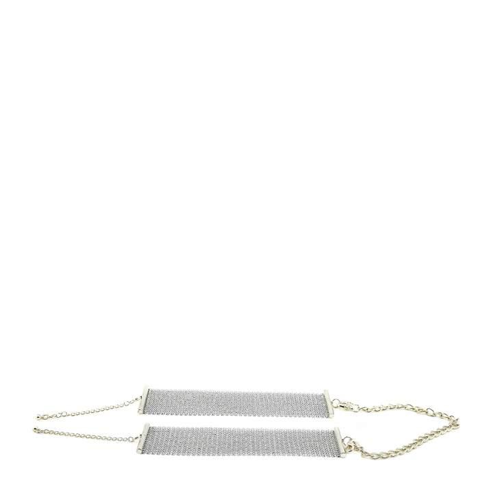 XXX Kajdanki - Bijoux Indiscrets - Désir Métallique Handcuffs (srebrne)