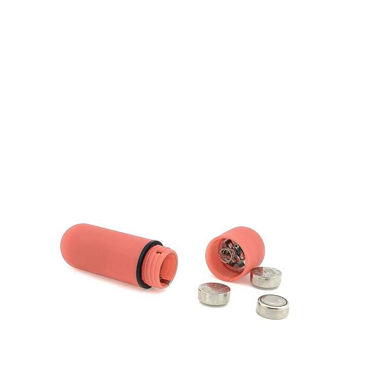 Czerwony mini wibrator do stymulacji łechtaczki na baterie