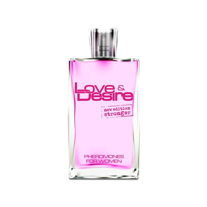 Woda perfumowana z feromonami damskimi Love & Desire 100 ml