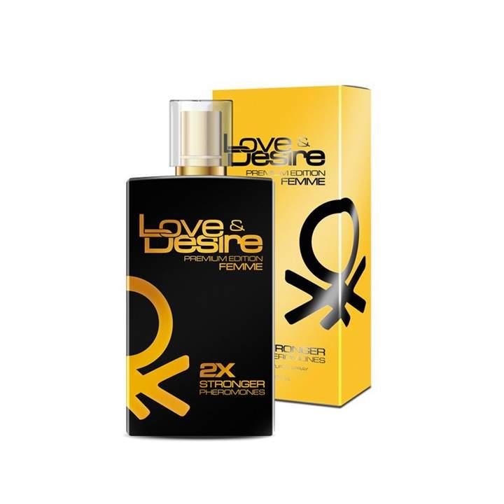 Love & Desire Gold feromony damskie 100 ml