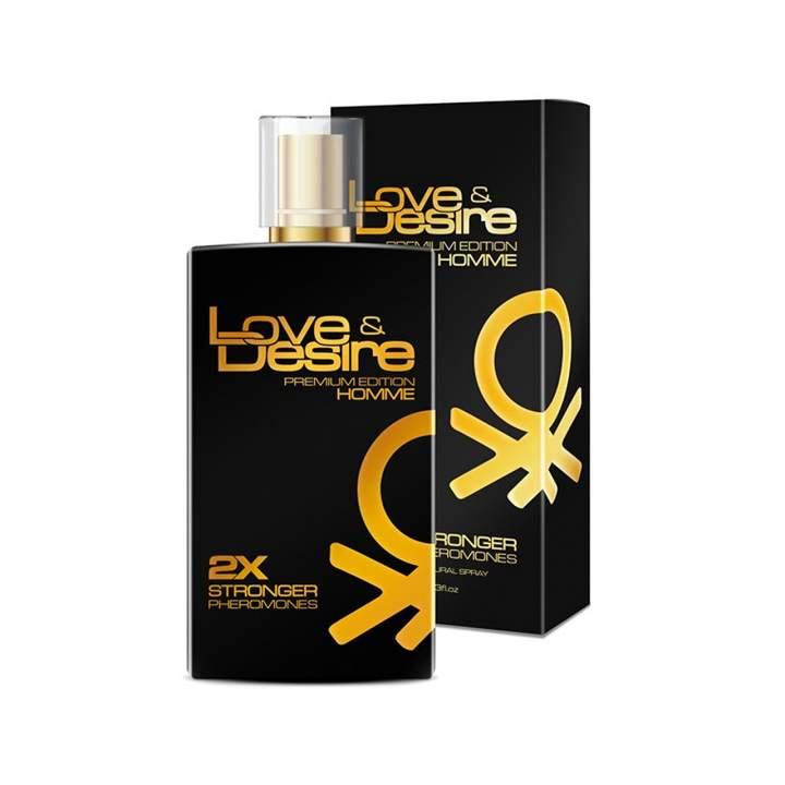 Love & Desire Gold feromony męskie 100 ml