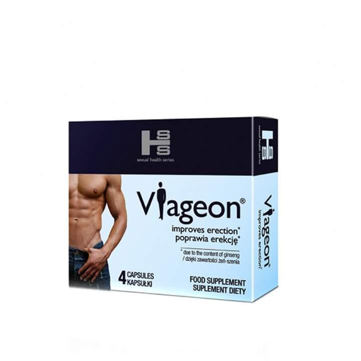Viageon tabletki na potencję 4 szt.