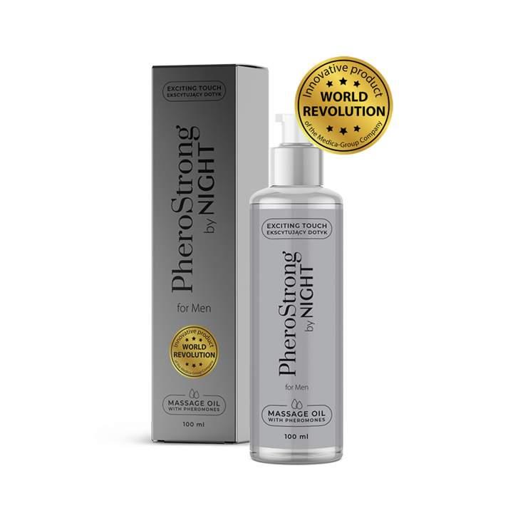 PheroStrong by Night – olejek do masażu dla mężczyzn – 100 ml