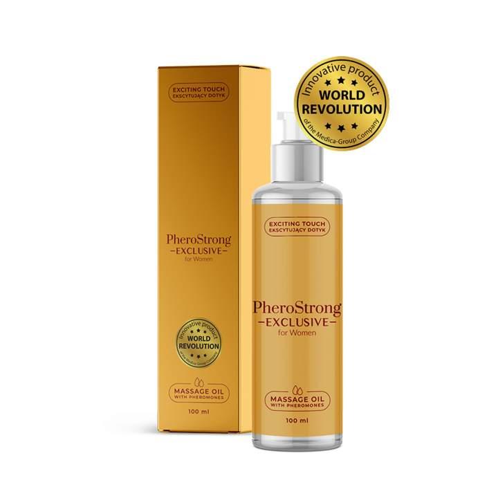 Olejek do masażu z feromonami dla kobiet – 100 ml