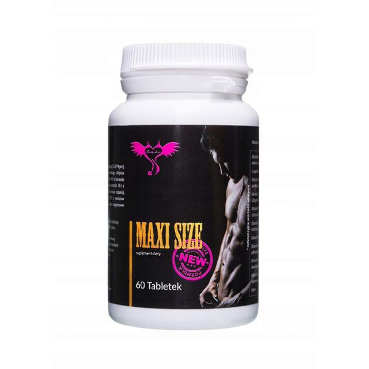 Suplement powiększający penisa Maxi Size - 60 tabletek