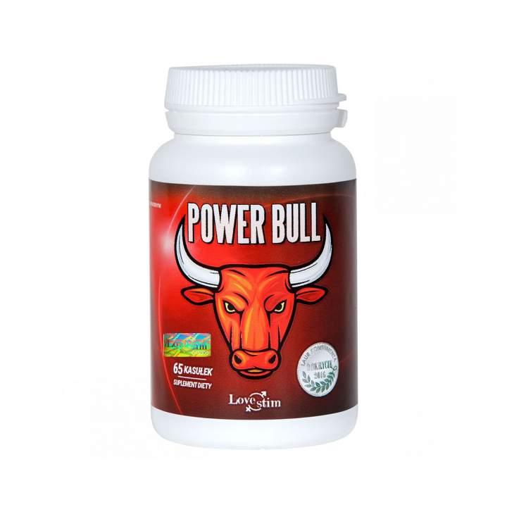 Tabletki Power Bull na potencję 65 szt.