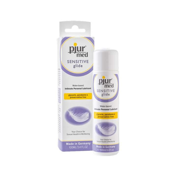 Żel na bazie wody Pjur Med Sensitive Glide 100 ml