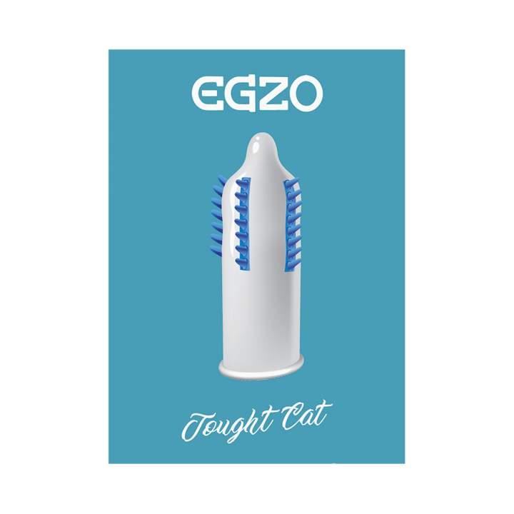 Lateksowa prezerwatywa dla mężczyzn ze stymulującymi wypustkami