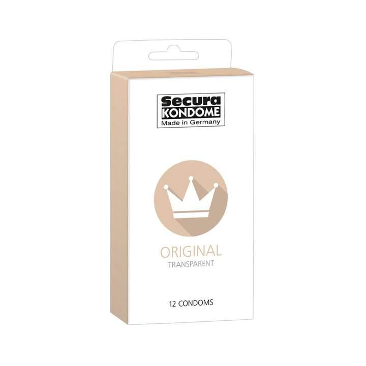 Secura Kondome opakowanie prezerwatyw klasycznych 12 sztuk