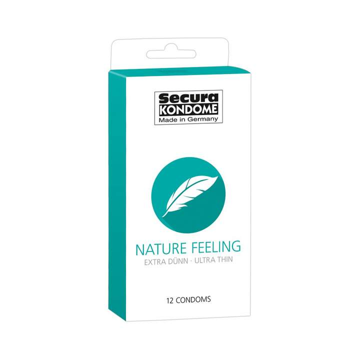 Secura Kondome prezerwatywy ultracienkie 12 sztuk