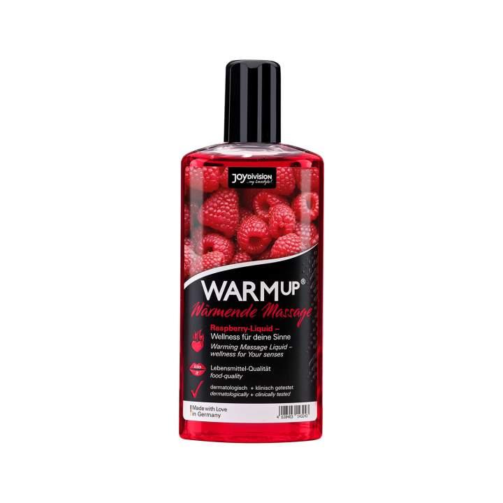 Warm up olejek rozgrzewający do masażu malinowy 150 ml