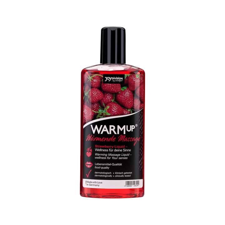 Warm up olejek do masażu truskawkowy 150 ml
