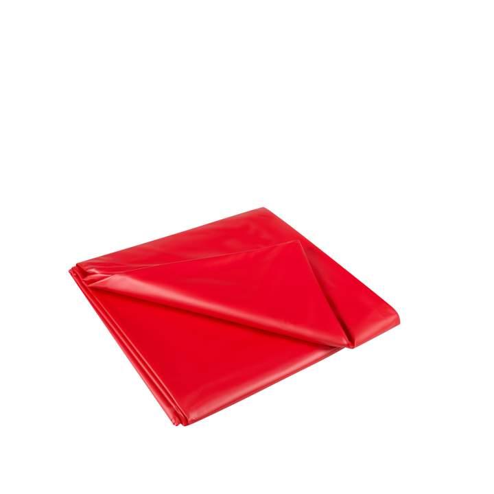 Czerwone prześcieradło do mokrych zabaw 180 x 260 cm