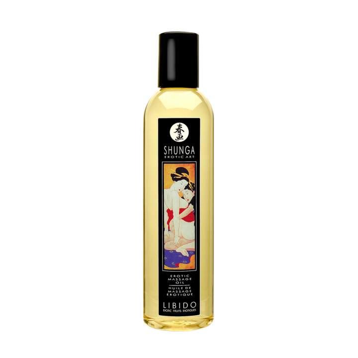Luksusowy olejek do erotycznego masażu – Shunga Libido – 250 ml