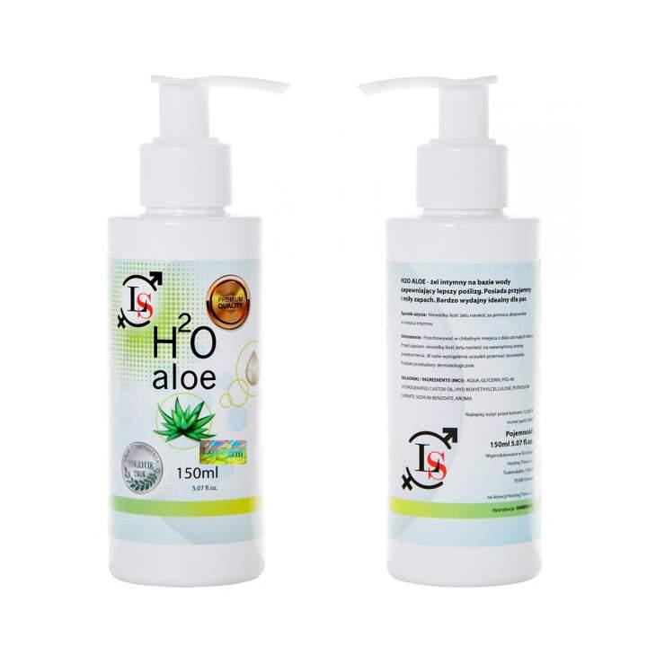 Kojący żel intymny z dodatkiem aloesu – H2O Aloe – 150 ml