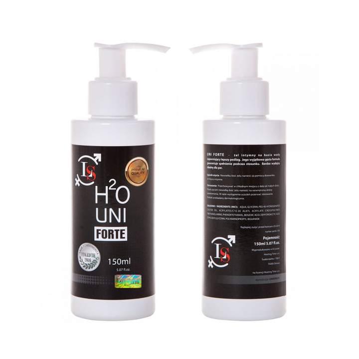 Nawilżający żel do miejsc intymnych – H2O Uni Forte – 150 ml
