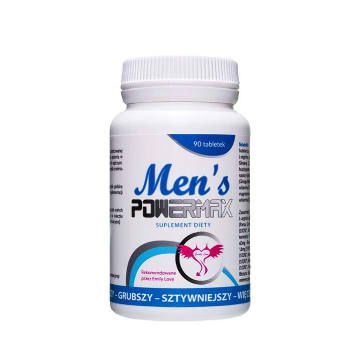 Men's Powermax tabletki na potencję 60 szt.