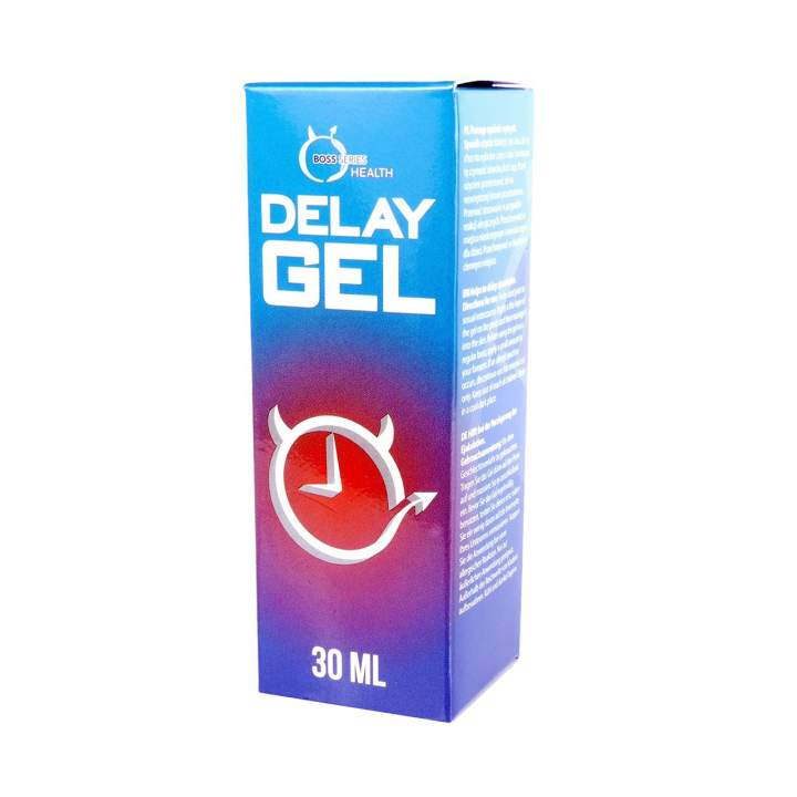 Żel opóźniający wytrysk Boss Series Health Delay Gel 30 ml