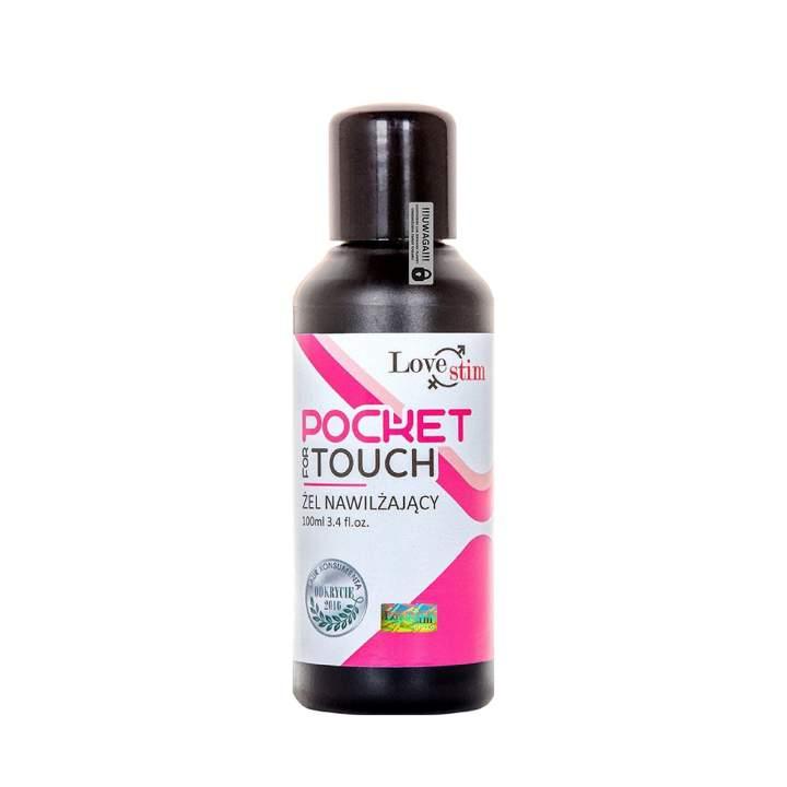 Pocket for Touch żel nawilżający i olejek do masażu w jednym 100 ml