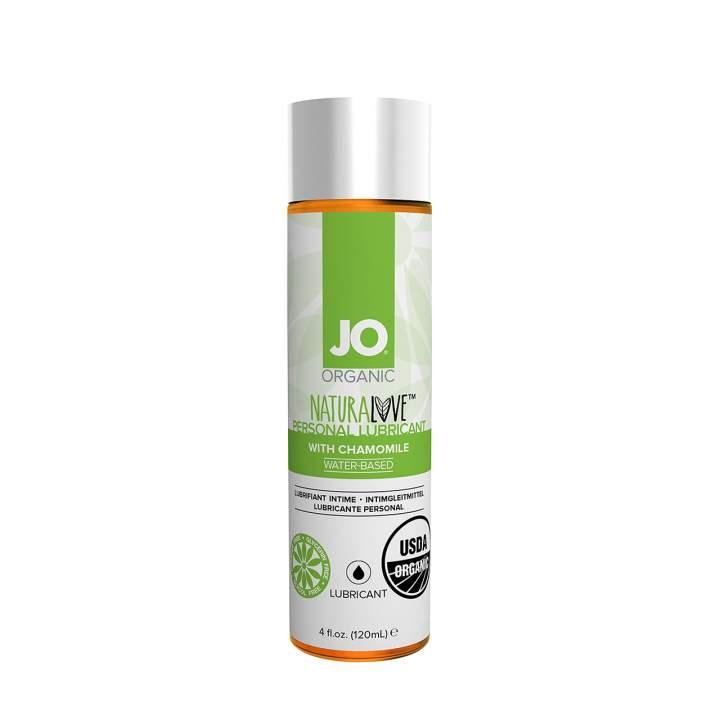 Organiczny lubrykant – JO na bazie wody z dodatkiem rumianku – 120 ml