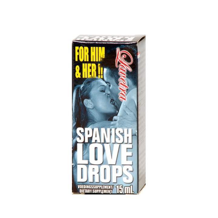Krople Spanish Love Drops Lavetra 15ml